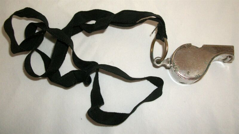 Vintage BSA Boy Scouts of America Be Prepared Field Whistle
