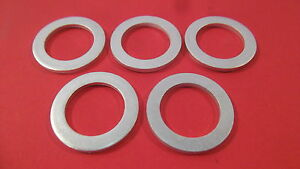 5-Engine-Oil-Drain-Plug-Aluminum-Crush-Gaskets-18MM-I-D-Fits-90-97-Miata-MX5