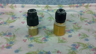 R12 To R134a & R134a To R12 Adapter Set W/caps