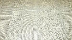 Off-White-Beige-Stripe-Nylon-Upholstery-Fabric-1-Yard-R921