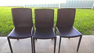 6 leather dining chairs Armidale Armidale City Preview