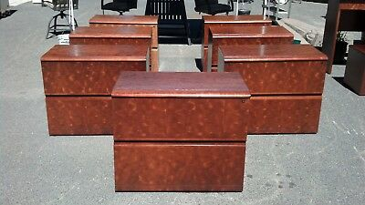 File Cabinet 2 Drawer Lateral 36 Burlwood Walnut Wedeliverlocallynorthern Ca