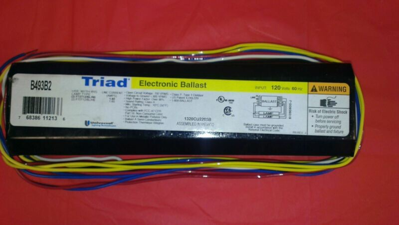 Tanning Bed Ballast Universal Triad 493B2 Replacement  Electronic