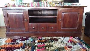 Balinese style TV unit Charlestown Lake Macquarie Area Preview