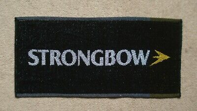Strongbow Cider - Strongbow Cider Beer Bar Towel Pub Home Bar Man Cave New Unused