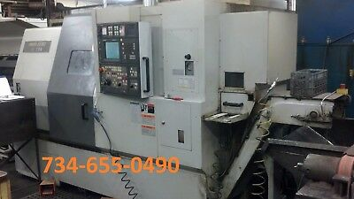 Mori Seiki Zl200 Smc Cnc Lathe Sub Spindle Live Tooling - Video  - New 2002