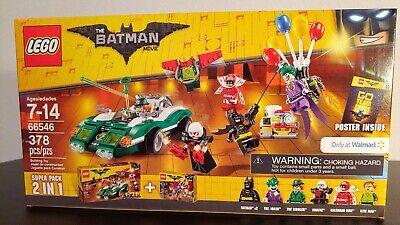Lego Batman Movie Set 66546 Walmart Exclusive Super Pack 2in1 - Sealed in Box - Walmart Toys Legos