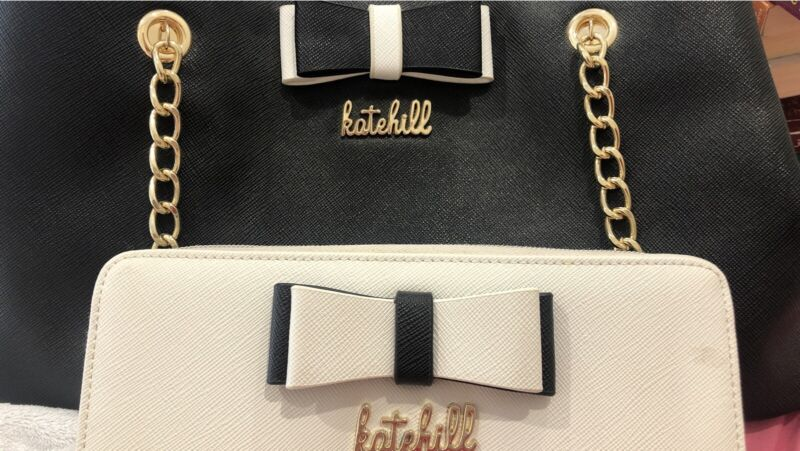 Kate Hill Handbag And Purse Set