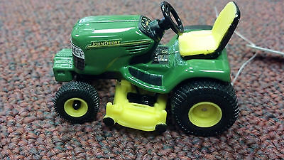 John Deere Riding Tractor With Lawn Mower Deck Ertl Free Shipping