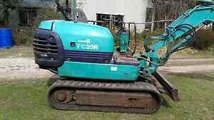 Rubber tracked excavator Rydal Lithgow Area Preview