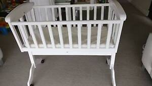 BABY CRADLE Mothercraf ROSELLA - White Perfect Condition like New Docklands Melbourne City Preview