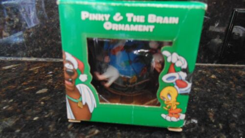 Pinky And The Brain Warner Brothers Christmas Ornament NIB