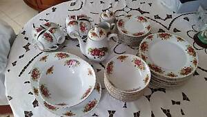 22k Gold Plated Roses Design Dinner set of 47 pieces Ryde Ryde Area Preview