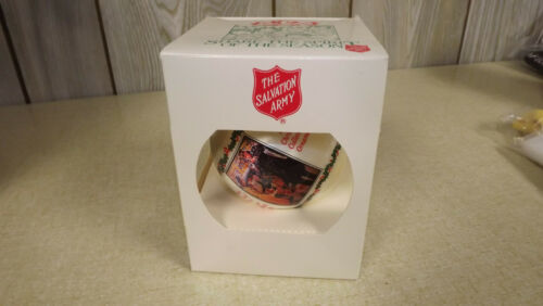 Vintage 1994 Salvation Army TREE ORNAMENT  Christmas  NEW IN BOX