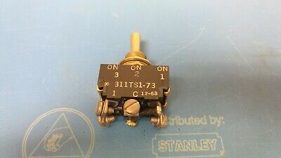 Microswitch 311ts1-73 - 3 Position On On On Momentary Toggle Switch New