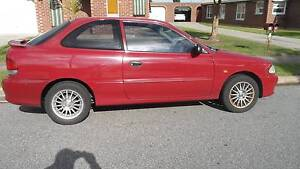1998 Hyundai Excel GX Hatch Auto 1.5Ltr Twin Cam Power Steering. Seaton Charles Sturt Area Preview