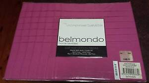Belmondo Single Quilt Set. AMAZING BARGAIN!! $50 DOWN TO $15 Valley View Salisbury Area Preview