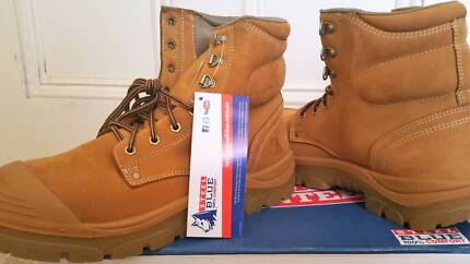 Work Boots Brand New / Never Used- Steel Blue Boots Size 10 Aus