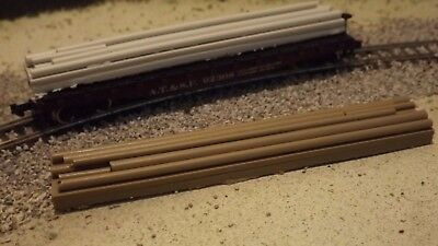 N-Scale  6 Unfinished Industrial A//C Unit Freight car loads//1:160 Detail Parts