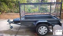 Solid Box Trailer 6' X 4' with cage Kooringal Wagga Wagga City Preview