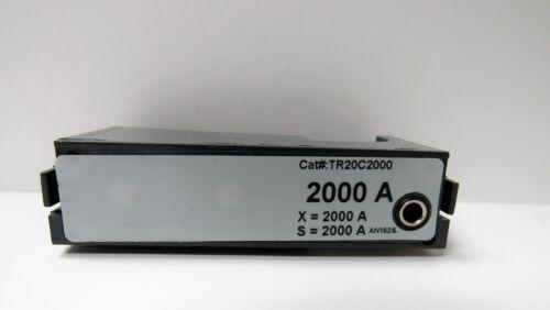 GENERAL ELECTRIC TR20C2000 2000A RATING PLUG