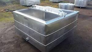 1100 lt stainless steel tank, milk vat, water storage, alchohol, Timboon Corangamite Area Preview