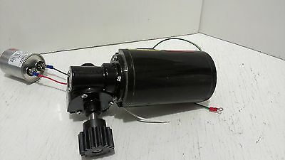 Right Angle Gear Motor Baldor Industrial .04 Hp 251 Ratio Output 67 Rpm 1 Phase