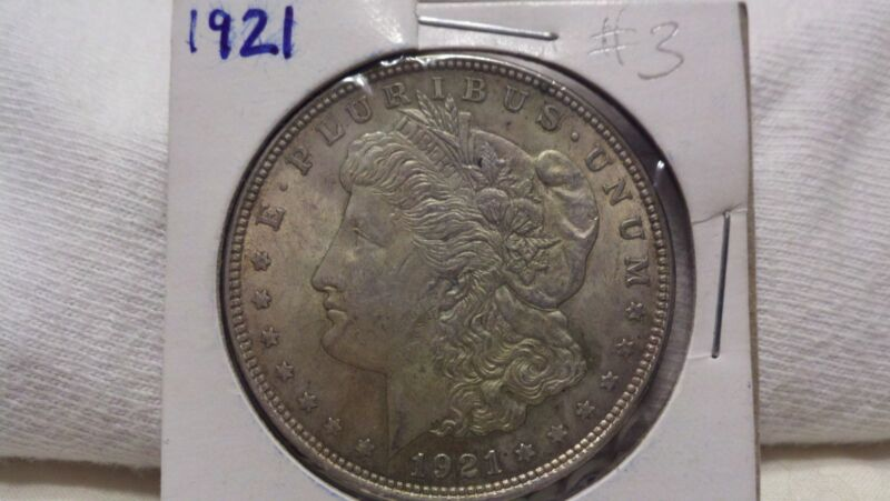 1921 P Philadelphia Mint Morgan Silver Dollar Great Estate Find Great Condition