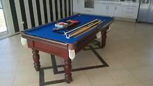 Pool Table with accessories (7ft slate) Canning Vale Canning Area Preview