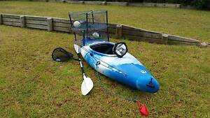 Kayak sit in fishing canoe raft boat Singleton Singleton Area Preview
