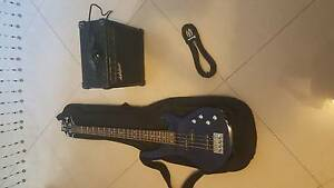 Second hand BASS GUITAR + AMP + CARRYBAG Padstow Bankstown Area Preview