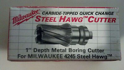 Milwaukee 49-57-0564 916-inch Steel Quick Change Tang Drive Hawg Cutter