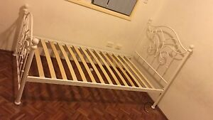 Single bed with mattress Bass Hill Bankstown Area Preview