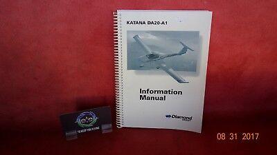 Diamond Aircraft Katana Information Manual Pn Da20 A1  Da20 A1fim