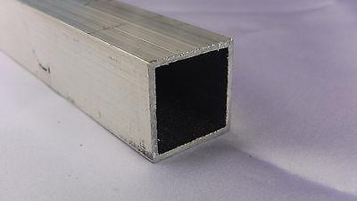 Aluminum Architectural Square Tube .062 X 1 X 48 In. 6063 Uaac 2pcs