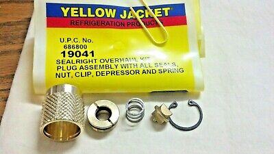Yellow Jacket Hose Seal Right Coupler Overhaul Kit 19041