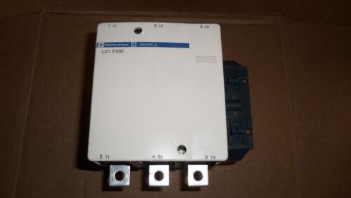 Telemecanique LC1F330 Contactor Starter 600v 250hp 370 Amp 120v Coil