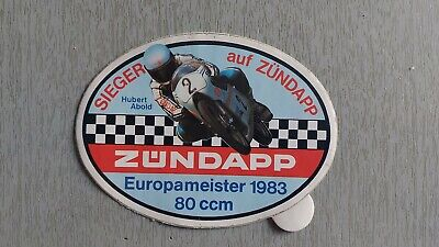 "Zündapp Aufkleber /"" TOP STAR /"" C 50 Sport Typ 529"