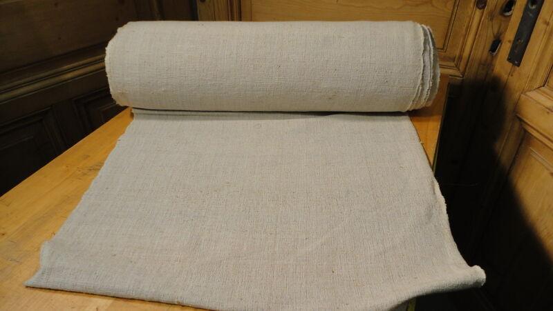 Homespun Linen Hemp/Flax Yardage 25 Yards x 25