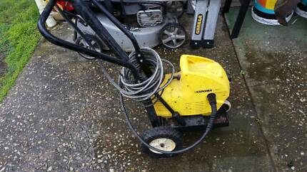 karcher 300 pressure cleaner and trolly