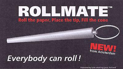 ROLLMATE SILBER - um Cones selber zu machen & als Stopfer verwendbar !! TOP !!