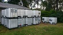 Recycled Food Grade IBC - 100% NO CHEMICALS - 1,000L A+ Condition Marsden Logan Area Preview