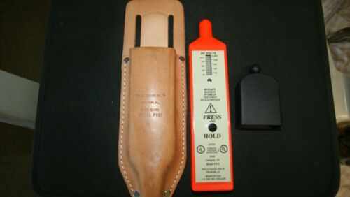 TELCO FVD FOREIGN VOLTAGE TESTER WITH LEATHER POUCH AND CAP