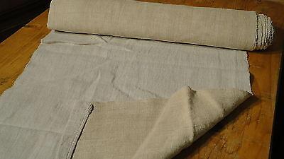 Homespun Linen Hemp/Flax Yardage 4.5 Yards x 20'' Plain  #4709