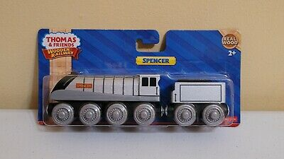 Thomas & Friends Wooden Railway Spencer & Tender NEW 2012 Fisher Price