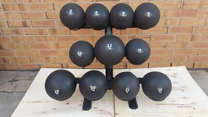 Slam Balls with Rack, Set of 10 4kg to 25kg No deal like it !
