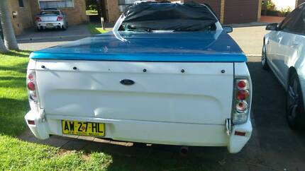 Ford Falcon LPG/ Gas Ute wrecking for parts