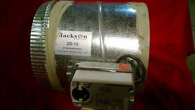 Bundle 10 Hvac Zone Damper Dampner Dampener Zd-10 Zd10 Jackson Systems Motor