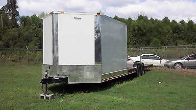 New 2020 8.5 X 30 8.5x30 Hybrid Enclosed Utility Cargo Car Hauler Trailer