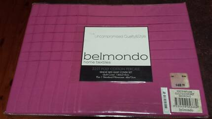 Belmondo Single Quilt Set. AMAZING BARGAIN!! $50 DOWN TO $15